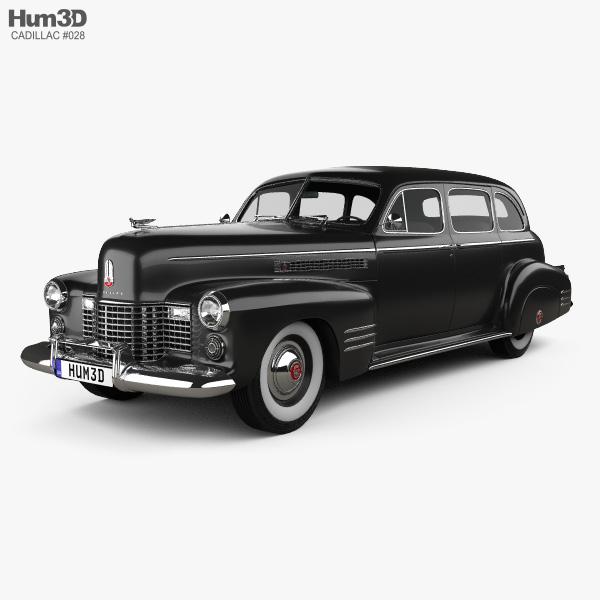 Cadillac Fleetwood 75 touring sedan 1941 3D model