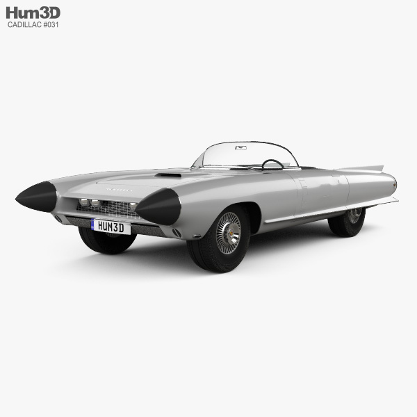 Cadillac Cyclone concept 1959 3D model