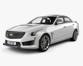 3D model of Cadillac CTS V 2016
