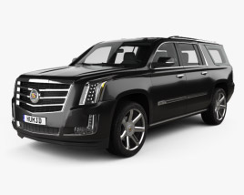 Cadillac Escalade ESV Platinum 2015 3D model