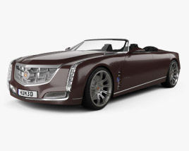 3D model of Cadillac Ciel 2011