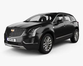 3D model of Cadillac XT5 2016