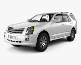 3D model of Cadillac SRX 2005