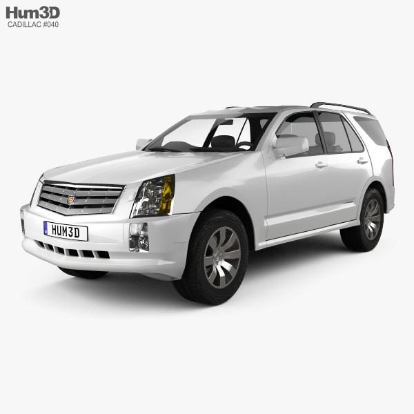 Cadillac SRX 2005 3D model