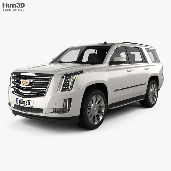 Cadillac Escalade (EU) 2015 3D model