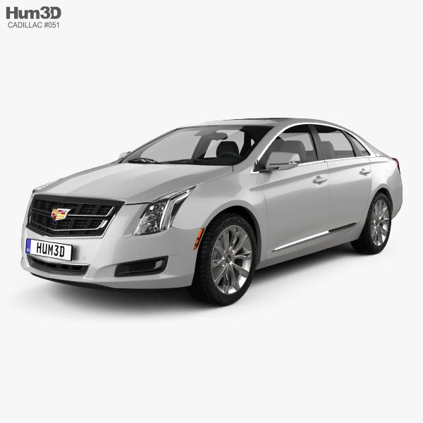 3D model of Cadillac XTS 2016