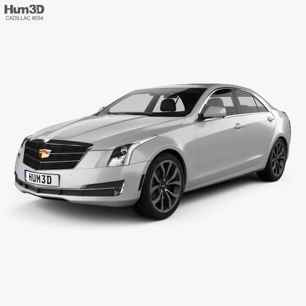 Cadillac ATS Premium Performance sedan 2017 3D model