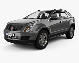 3D model of Cadillac SRX Base 2010