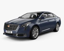3D model of Cadillac XTS 2018