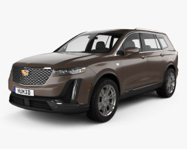 Cadillac XT6 Luxury 2020 3D model