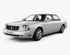 3D model of Cadillac DeVille DTS 2000