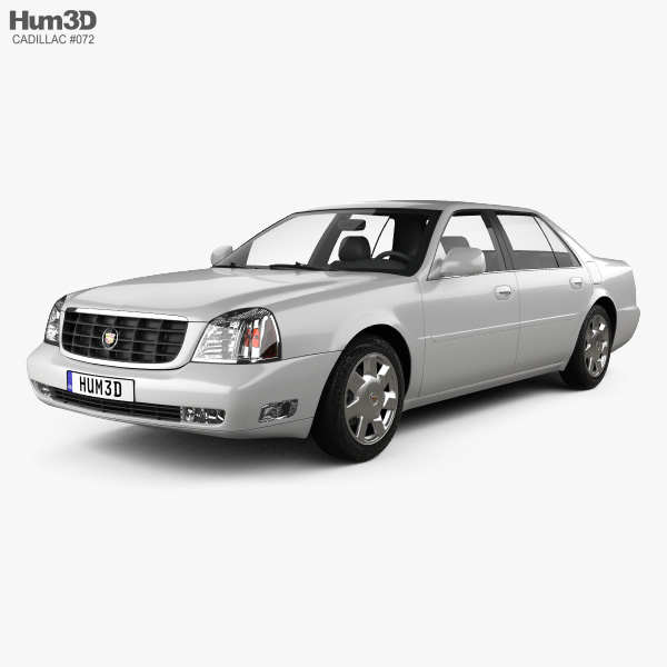 Cadillac DeVille DTS 2000 3D model