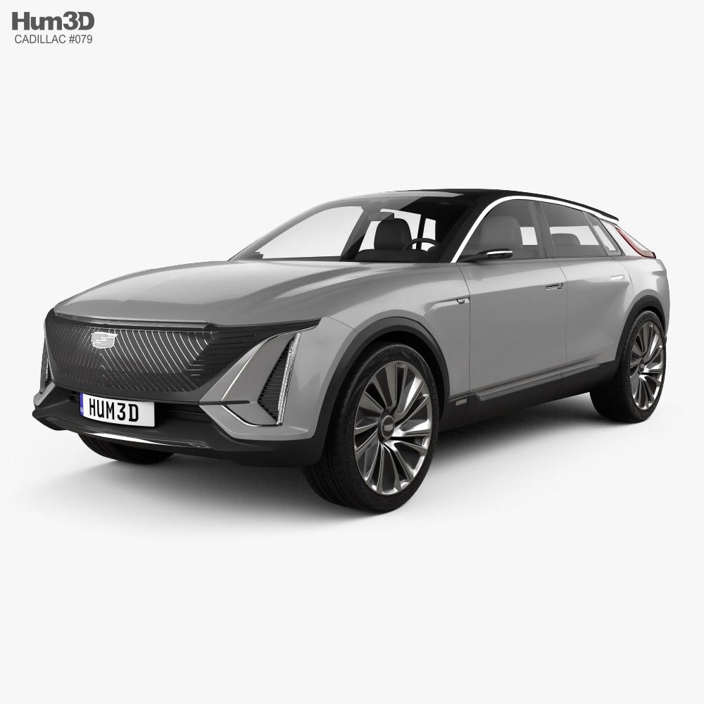 Cadillac Lyriq concept 2020 3D model