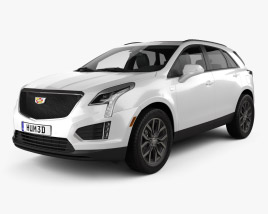 3D model of Cadillac XT5 CN-spec 2020