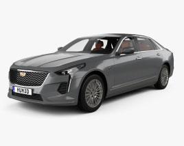 Cadillac CT6 CN-spec com interior 2020 Modelo 3d