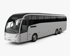 3D model of Caetano Levante Bus 2013