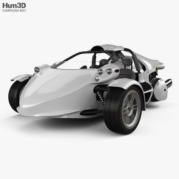 3D model of Campagna T-Rex 16S 2013