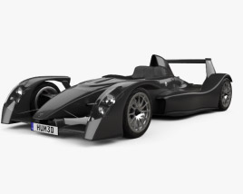 3D model of Caparo T1 2007
