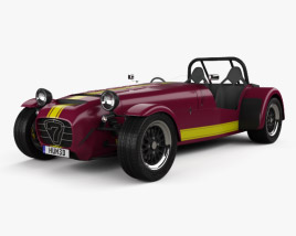 3D model of Caterham Seven 620R 2013