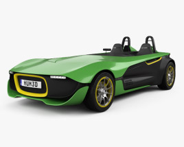 3D model of Caterham AeroSeven 2013