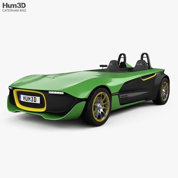 3D model of Caterham AeroSeven 2013