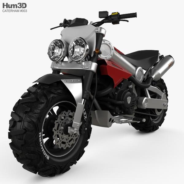 Caterham Brutus 750 2014 3D model