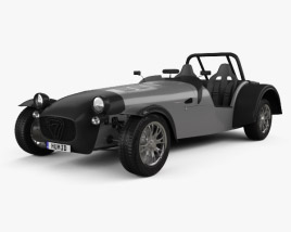3D model of Caterham Superlight Twenty 2016