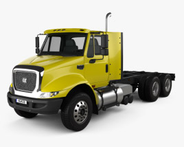 3D model of Caterpillar CT610 Chassis Truck 2011