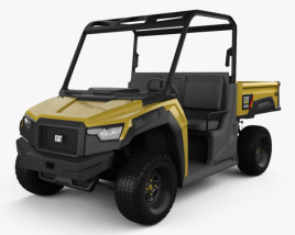 3D model of Caterpillar CUV 102 D 2017