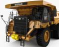 Caterpillar 777G Dump Truck with HQ interior 2012 3d model