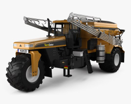 3D model of Challenger TerraGator 9300 2014