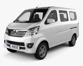 3D model of Chana Star Passenger Van 2013