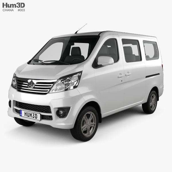 Chana Star Passenger Van 2013 3D model