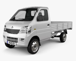 3D model of Chana Star Truck Single Cab 2011