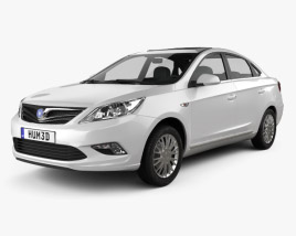 3D model of Changan Eado 2011