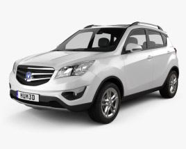 3D model of Changan CS35 2012