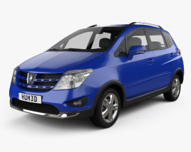 3D model of Changan CX20 2011