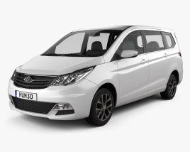 3D model of Changan Auchan 2015