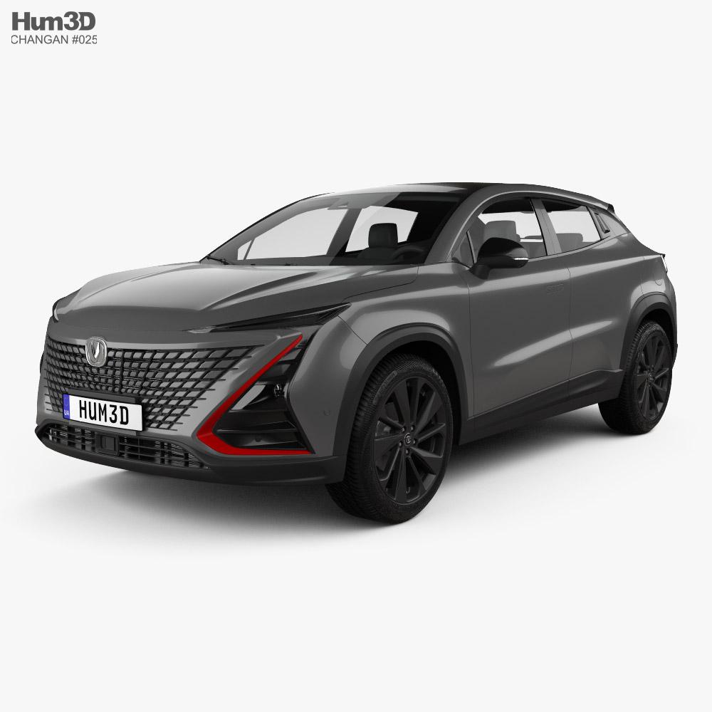 Changan Uni-t 2020 3D model