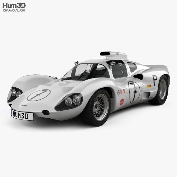Chaparral 2D Race Car 1966 3D model