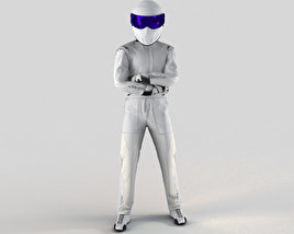 3D model of The Stig