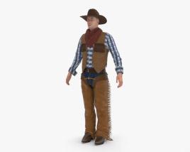 3D model of Cowboy