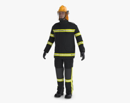 3D model of Firefighter