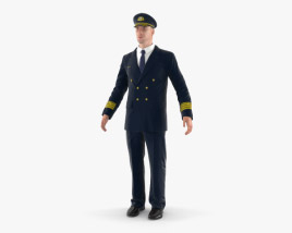3D model of Airline Pilot