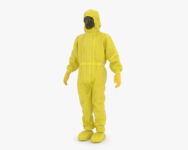 3D model of Hazmat Worker