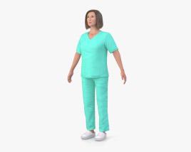3D model of Nurse
