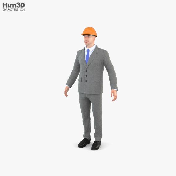 Architect 3D model