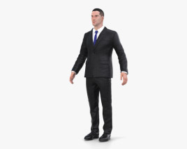 3D model of Man in Suit