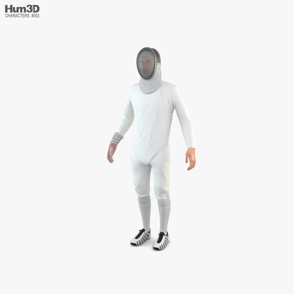 3D model of Fencer