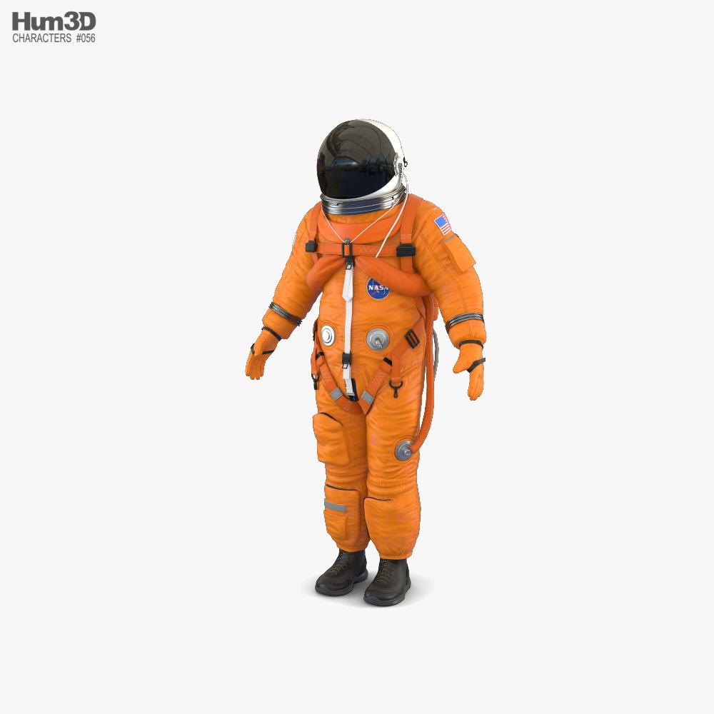太空服 美国国家航空航天局ACES 3D模型